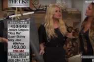 Jessica Simpson Seemed a Little… Off During Her Home Shopping Network Gig