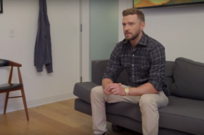 Justin Timberlake Pitches Seth Meyers on New 'Late Night' Theme Songs