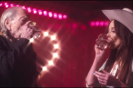 Kacey Musgraves Drowns Her Sorrows With Willie Nelson in 'Are You Sure' Video