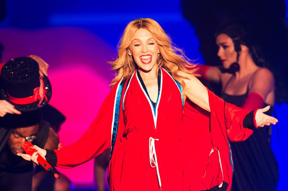 Kylie Minogue Performs At Dubai World Cup