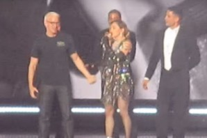 Madonna Humped Anderson Cooper Onstage in Brooklyn