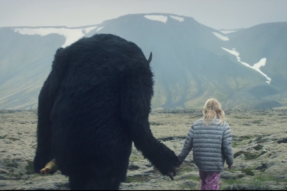 Mnek Zara Larsson And A Mythical Beast Roam Iceland In Never