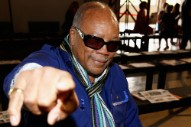 Quincy Jones Hospitalized Due to Chest Pains