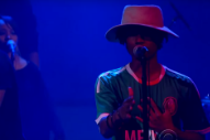 Raury Shades Donald Trump While Performing 'Devil's Whisper' on 'Colbert'
