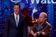 Paul Simon and Stephen Colbert Dueted on 'Me and Julio Down By the Schoolyard'