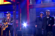 Watch Willie Nelson and John Mellencamp Sing 'Night Life' on 'Colbert'