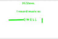 Powell Turned Steve Albini's Anti-Electronic Music Screed Into a Video for 'Insomniac'