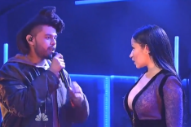 The Weeknd Remixes 'The Hills' With Eminem and Nicki Minaj, Performs With Latter on 'SNL'