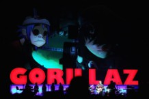 Gorillaz Perform In Sydney