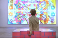 Battles Explore a Kaleidoscopic Techno-Future in 'Dot Net' Video