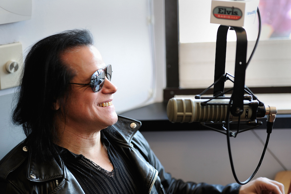Glenn Danzig Hosts A Special Guest DJ Session On SiriusXM's Elvis Radio Live From Graceland