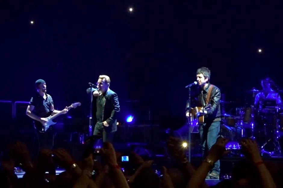 U2 and Noel Gallagher