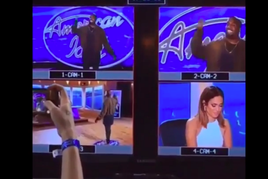Kanye on American Idol