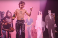 The 1975 Throw a Boozy, Faux-Glitzy Party in 'Love Me' Video