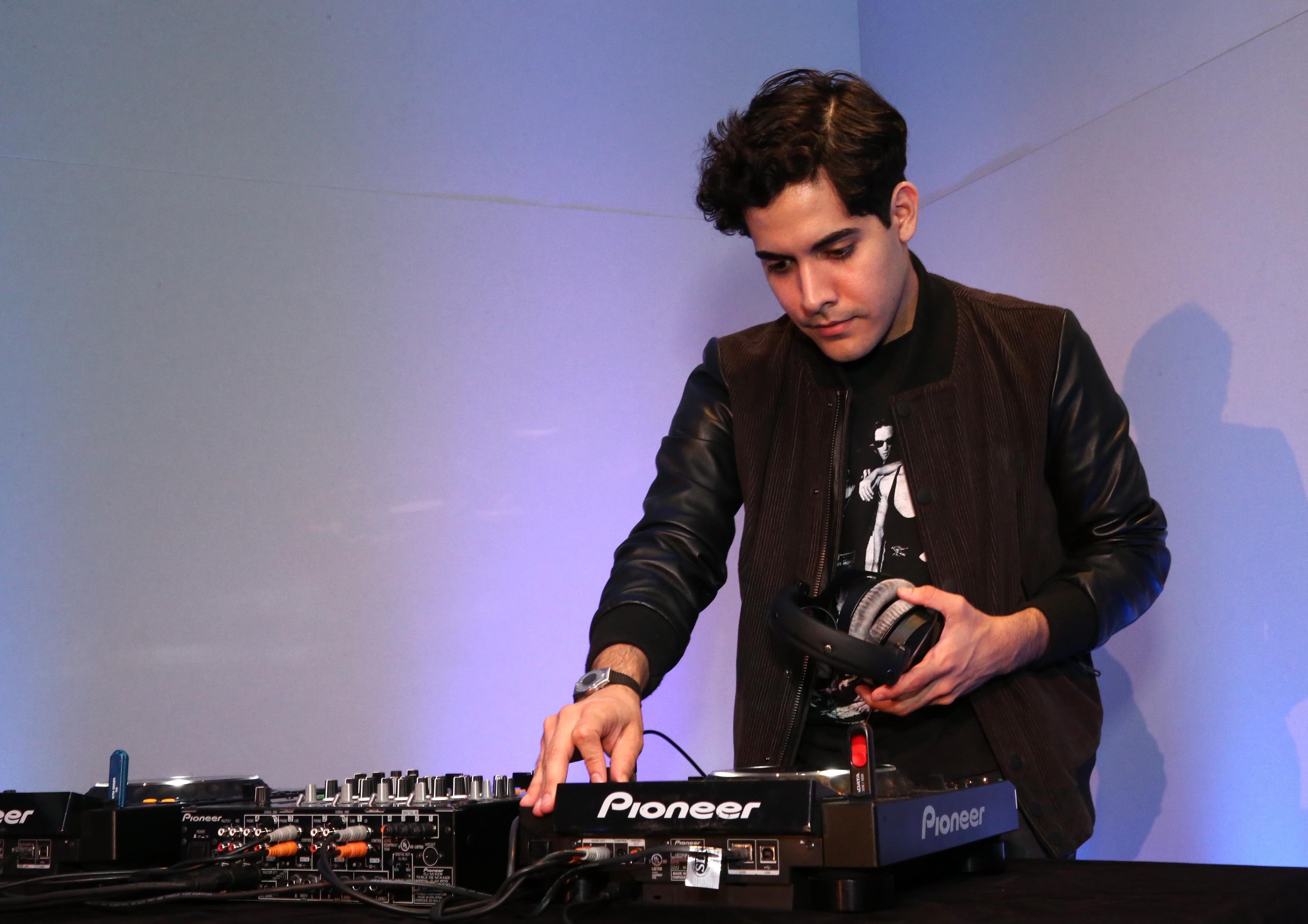 Neon Indian at Filmmaker Party - 2014 Tribeca Film Festival