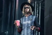 Young Thug at Rock En Seine Festival At Domaine National De Saint Cloud : Day 2