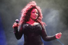 Chaka Khan Performs Live At Sydney Festival 2014
