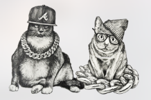Meow the Jewels merch