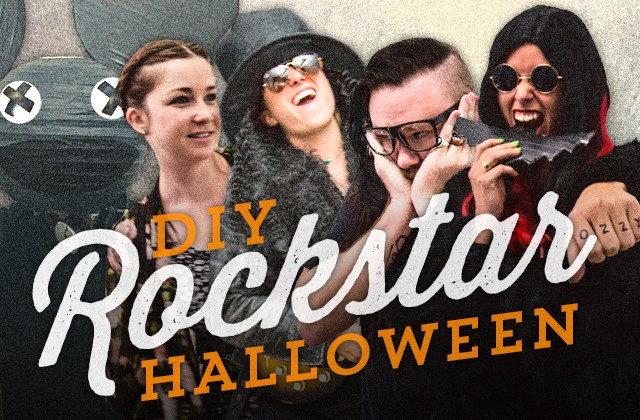 Halloween Rockstar.Five Easy Rockstar Halloween Costume Diys Inspired By Voodoo Fest