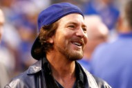 Eddie Vedder Is Really Pumped About the Cubs Beating the Cardinals