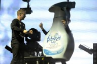 Jack Ü Dance Onstage With a Giant Febreze Bottle at Voodoo Fest