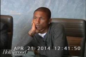 Watch Pharrell's Heated 'Blurred Lines' Lawsuit Deposition