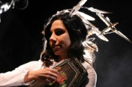 Watch PJ Harvey Debut New Songs in London