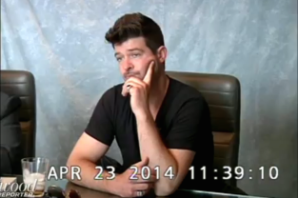 Robin Thicke Admits to Alcohol and Vicodin Reliance in 'Blurred Lines' Deposition Video