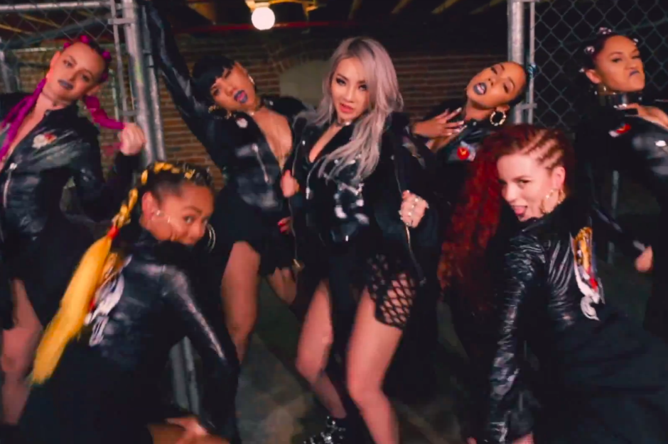 cl plays the baddest ringleader in �hello bitches� video