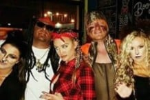 Jason Aldean dressed as Lil Wayne, blackface and all