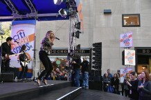 Carrie Underwood's Performance On The Citi Concert Series On Today