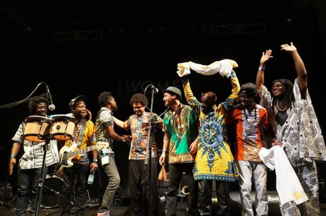 Pat Thomas & Kwashibu Area Band at WOMEX
