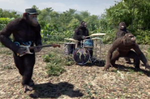 Coldplay Are a Buncha Apes in Animated New 'Adventure of a Lifetime' Video
