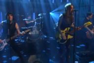 Against Me! Perform 'True Trans Soul Rebel' on 'Late Night With Seth Meyers'