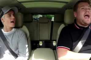 Justin Bieber Belts Alanis Morissette's 'Ironic' With James Corden