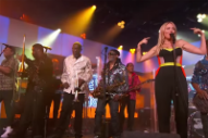 Jewel Joins Forces With Kool & the Gang as 'Jewel & the Gang' on 'Kimmel'