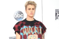 Noted Grunge Fan Justin Bieber Wore a Nirvana T-Shirt to the AMAs
