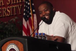 Killer Mike Spoke About Positivity at Florida State University