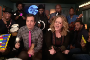 Watch Adele, the Roots, and Jimmy Fallon Tear Through 'Hello' on Classroom Instruments