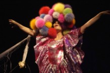 Bjork Performs At Hammersmith Apollo