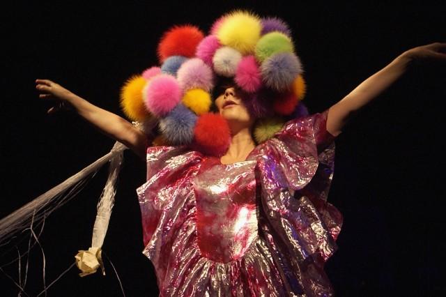 Bjork Performs At Hammersmith Apollo
