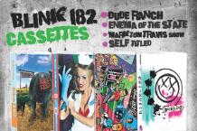 blink 182 casettes