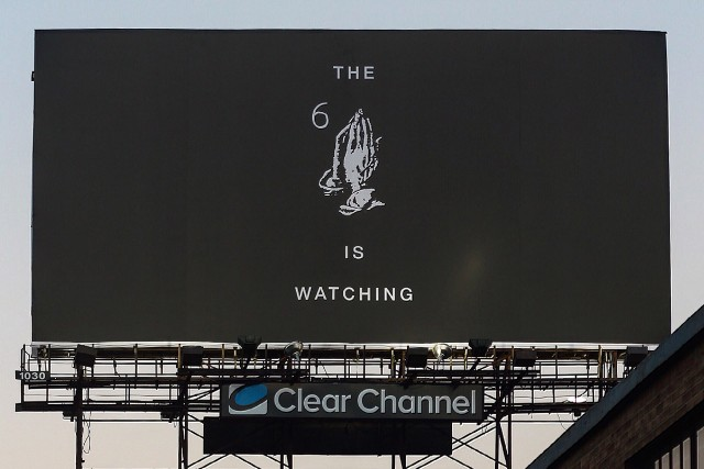 what does drake s mysterious new billboard mean spin