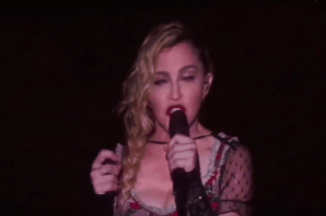 Madonna Says Prayer for Paris, Gives Speech at Stockholm Concert