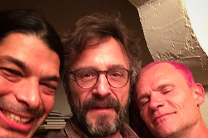 Marc Maron's 'WTF' Guests Today Are Red Hot Chili Peppers' Flea and Metallica's Robert Trujillo