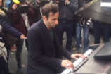 Pianist Plays John Lennon's 'Imagine' Outside Site of Attacks at Paris Venue