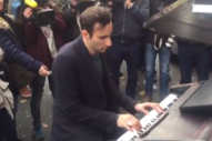 Pianist Plays John Lennon's 'Imagine' Outside Site of Attacks at Paris Venue