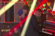 Coldplay Make James Corden's Rock'n'Roll 'Dreams' Come True