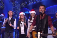 Bruce Springsteen and Paul McCartney Performed 'Santa Claus Is Comin' to Town' Together on 'SNL'