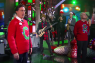 Stephen Colbert and Henry Rollins Thrash Their Way Through 'Carol of the Bells'